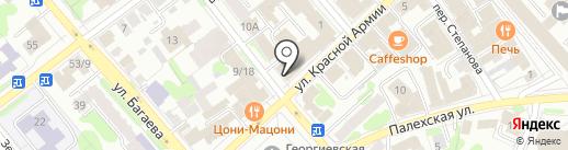 Эвакуатор 222-911 на карте Иваново