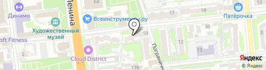 Эталон Строй на карте Иваново