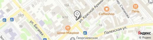 Александрия на карте Иваново