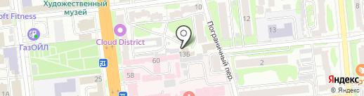 Вечный зов на карте Иваново