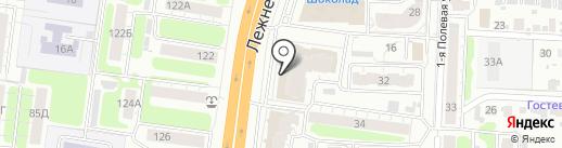 Нуга Бест на карте Иваново