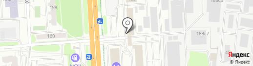 Гараж тулс на карте Иваново
