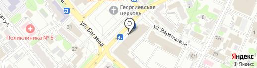 Академический на карте Иваново