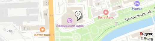 ФОКС Скейтс на карте Иваново