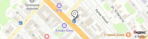 Мастерская по ремонту обуви на проспекте Ленина на карте Иваново