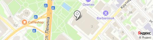 Ивановский музыкальный театр на карте Иваново