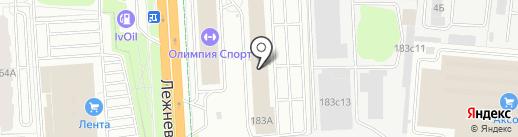 АКМ на карте Иваново