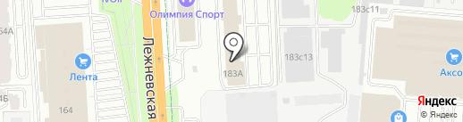 Хрустальные брызги на карте Иваново