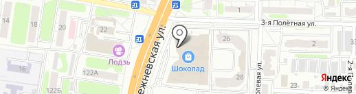 Факел на карте Иваново