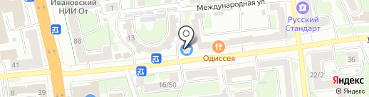 Продуктовая лавка на карте Иваново