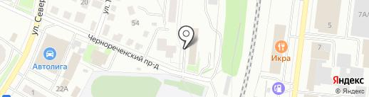 Управление МВД России по г. Костроме на карте Костромы