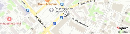 Управление Федеральной службы судебных приставов по Ивановской области на карте Иваново