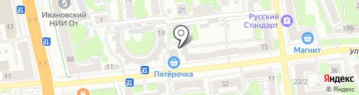 Экватор на карте Иваново