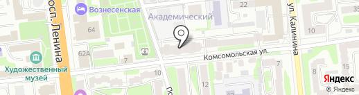 Гипермаркет на карте Иваново