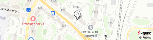 Феникс на карте Костромы