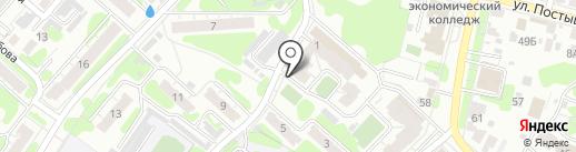 ГПС, ЗАО на карте Иваново