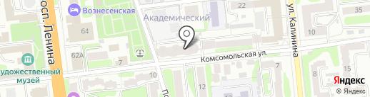 Промсвет на карте Иваново