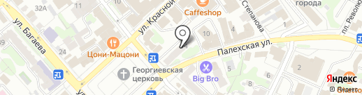 Фиалка на карте Иваново