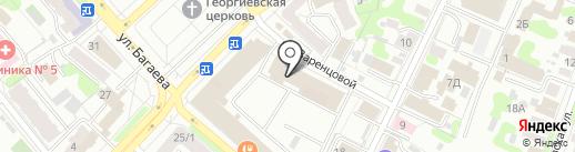 Полет на карте Иваново
