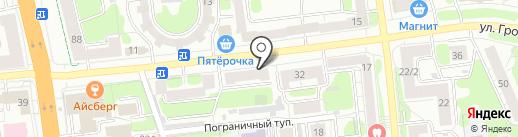 Хорошая одежда из Европы на карте Иваново