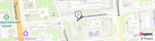 Амнезия на карте Иваново