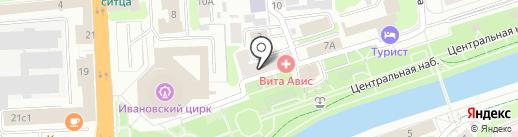 Академия детской культуры и творчества на карте Иваново
