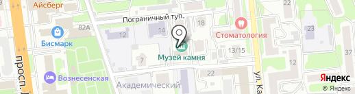 Ивановский музей камня на карте Иваново