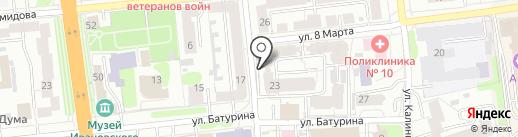 Вознесенский кредит на карте Иваново