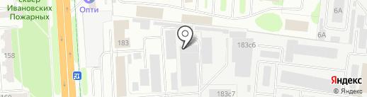 Текстиль Репаблик на карте Иваново