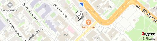 Ивановский Электропроект, ЗАО на карте Иваново