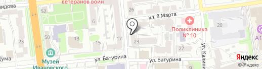 Kokos Travel на карте Иваново