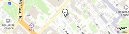 Гараж Трейд на карте Иваново