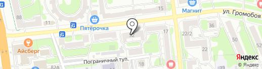 Общежитие на карте Иваново