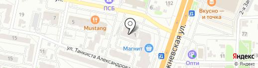 Эсент на карте Иваново