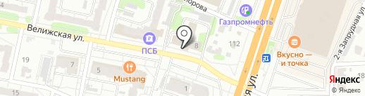 Ивановское бюро экспертизы на карте Иваново