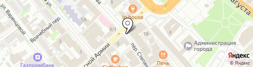 Арина на карте Иваново
