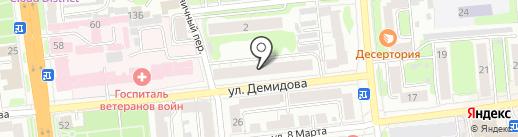 Винтаж на карте Иваново