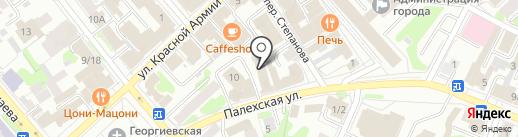 ИЗДАТЕЛЬСТВО ЛИВРЕЗОН на карте Иваново