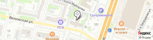 Консалт на карте Иваново