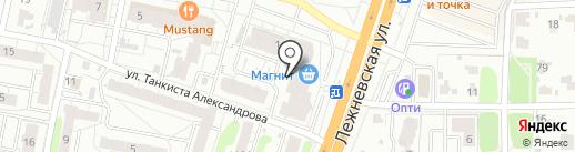 ИвановоСутки на карте Иваново