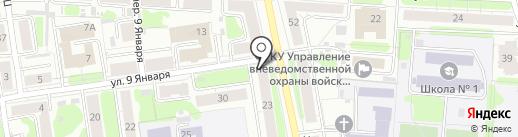 Ювента на карте Иваново