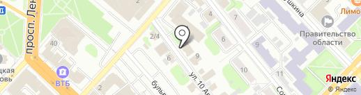 Гаранин на карте Иваново