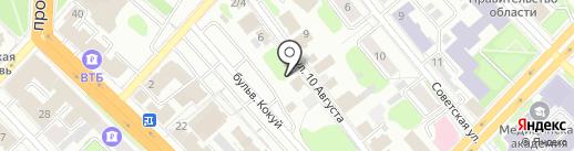 Динамо на карте Иваново