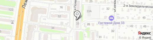 Параллели на карте Иваново