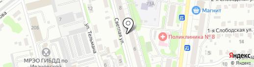 Участковый пункт полиции №23 на карте Иваново