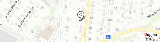 Ивнаграда на карте Иваново