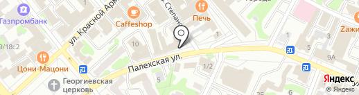 Юниум на карте Иваново