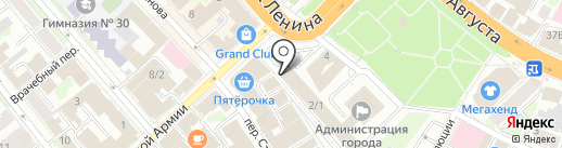 Управление по обеспечению защиты населения и пожарной безопасности Ивановской области на карте Иваново