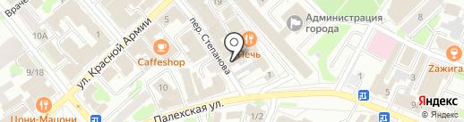 Для Вас на карте Иваново
