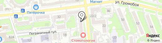 Магазин одежды и обуви на карте Иваново